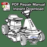 Ford 830, 1130 Riding Mower Repair Manual