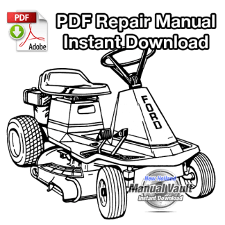 Ford 830, 1130 Riding Mower Repair Manual