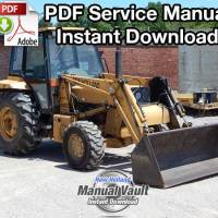 Ford 250C, 260C, 345D, 445D, 545D Tractor Engine, Fuel, Electrical Manual