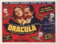 Bele Lugosi stars in Dracula!