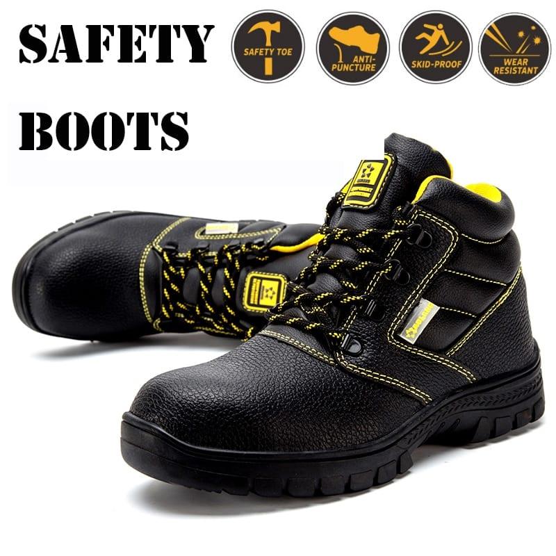 Safety Shoes Steel Toe Shoes for Men Steel Toe Sneakers Men Steel Toe Boots