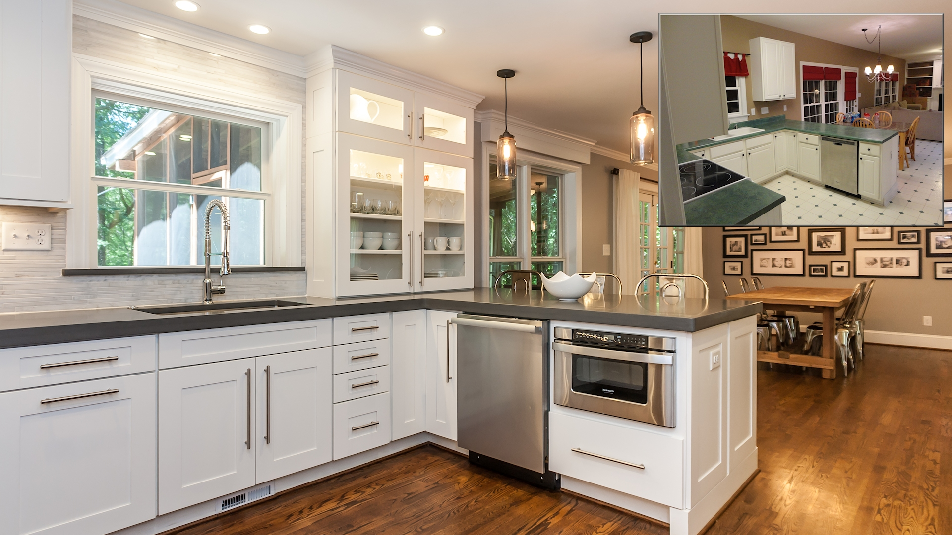 Home Remodeling Making A Great Before After New Homes