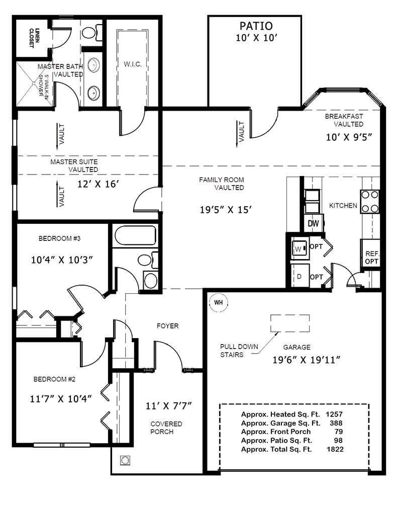 Bristol Pines 140s 200s Myrtle Beach Homes For Sale 10 Kw Williams Wall Furnace Wiring Diagram Maryfloorplan2014