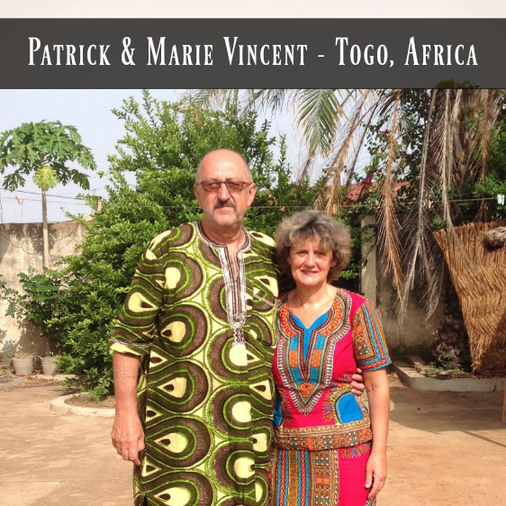 Patrick & Marie Vincent-website