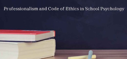 code of ethics in School Psychology,Professionalism, school psychology