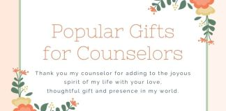 Gifts for Counselors