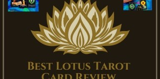Lotus Tarot Reading Card