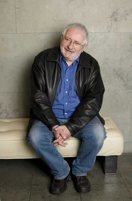 Terry Eagleton photographed in Dublin by Cliona O'Flaherty