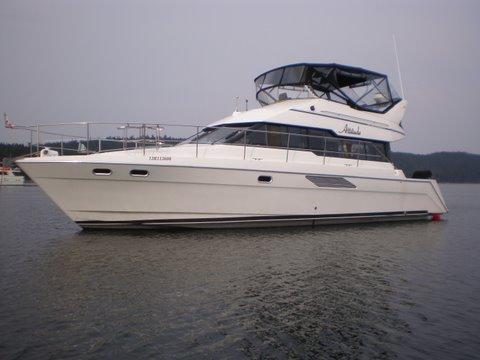 1991 Bayliner 4388 Motoryacht Power Boat For Sale Www