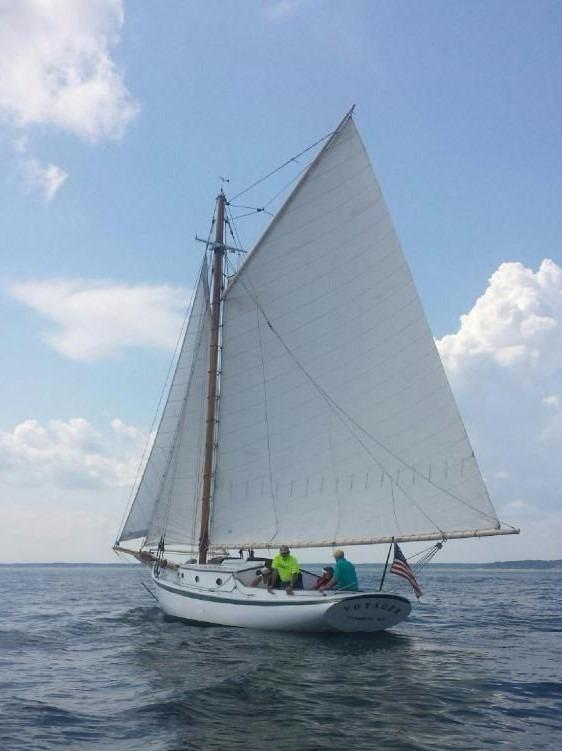 1965 Friendship Sloop Lash Brothers Sail Boat For Sale Wwwyachtworldcom
