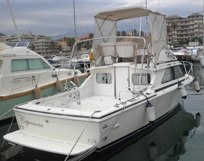 1989 Bertram 28 Flybridge Power Boat For Sale Www