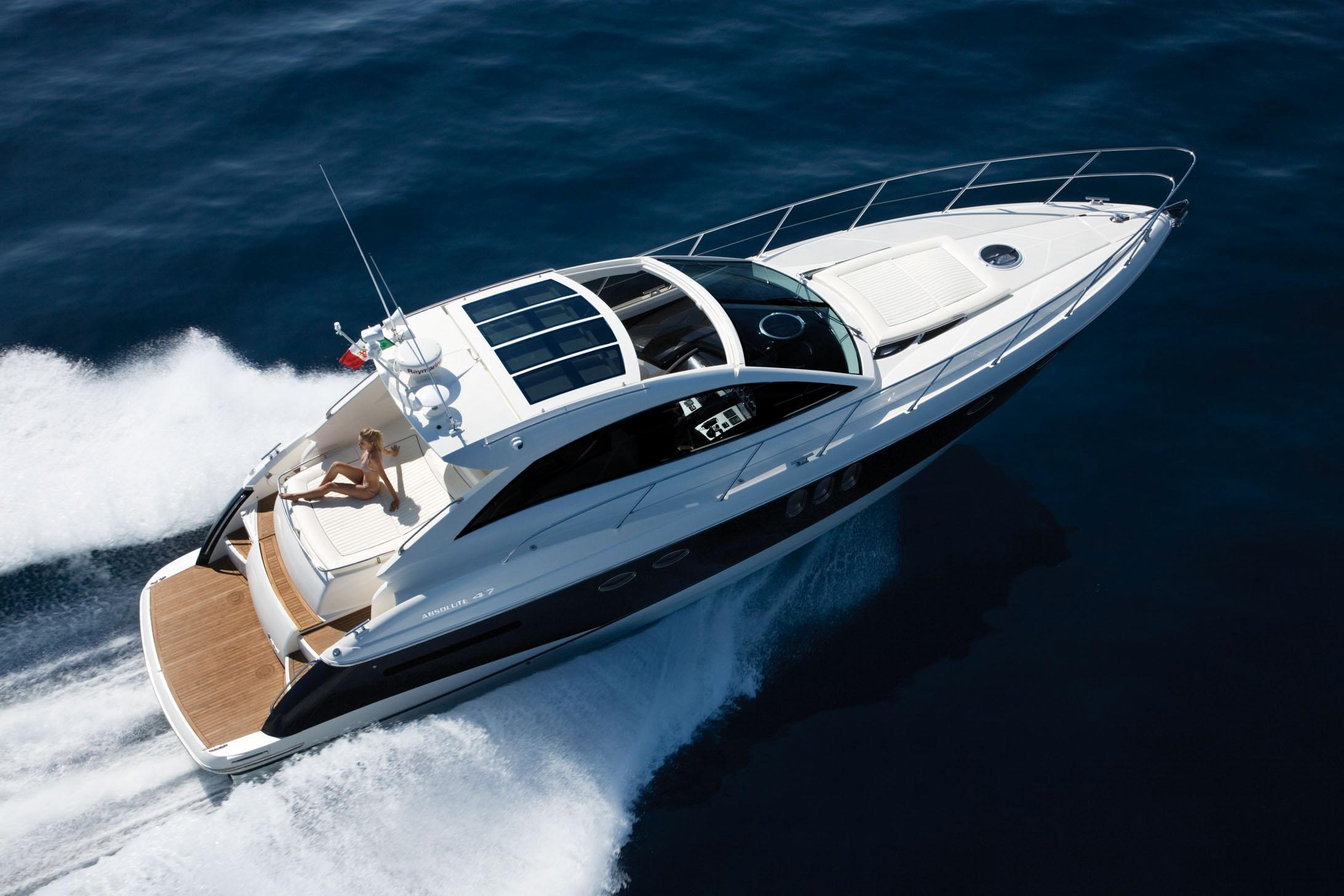 2009 Absolute 47 HT Power Boat For Sale Wwwyachtworldcom