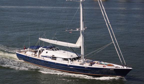 2004 Pendennis High Performance Motorsailer Sail Boat For