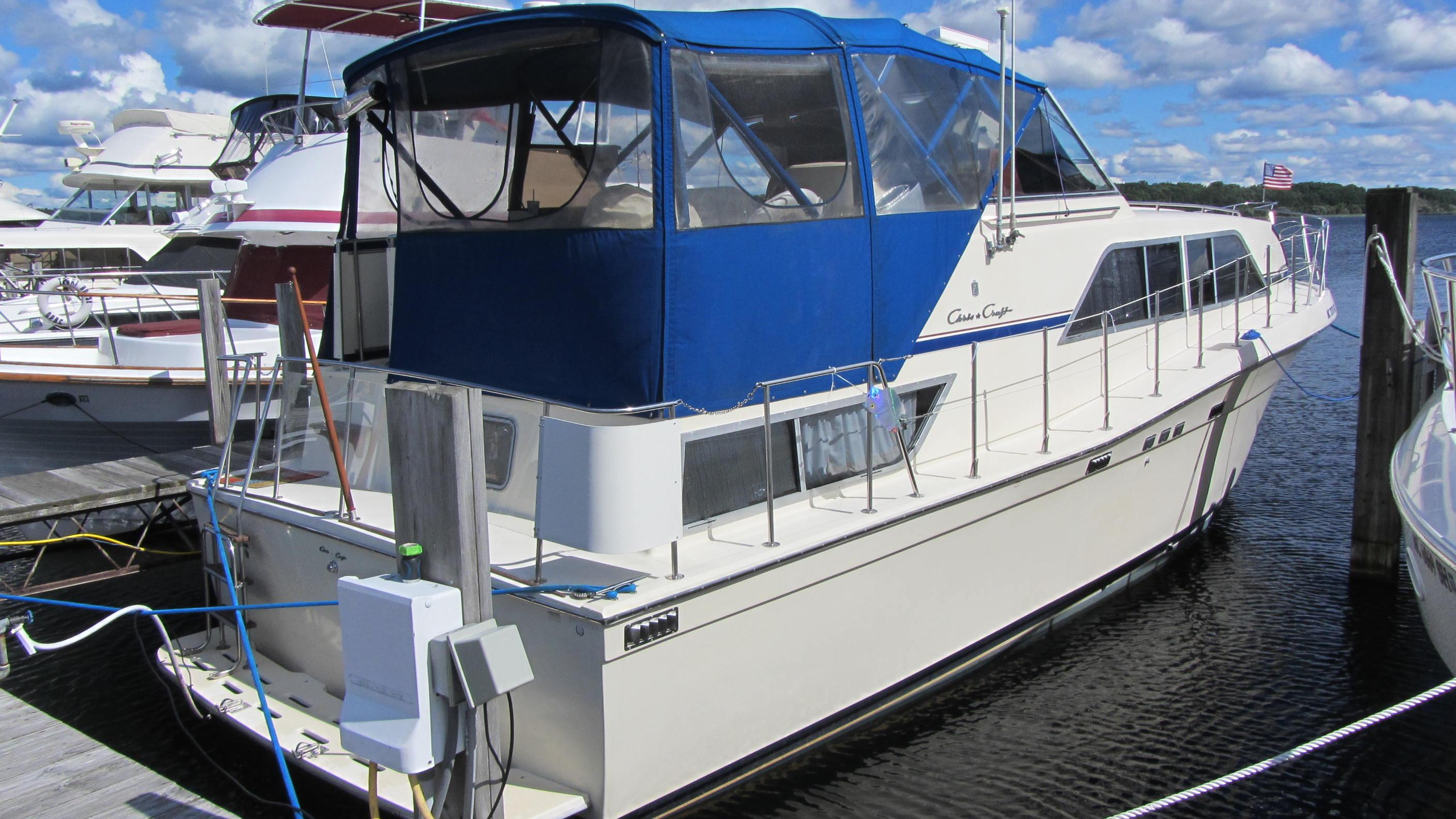 1987 Chris Craft 381 Catalina Power Boat For Sale Www