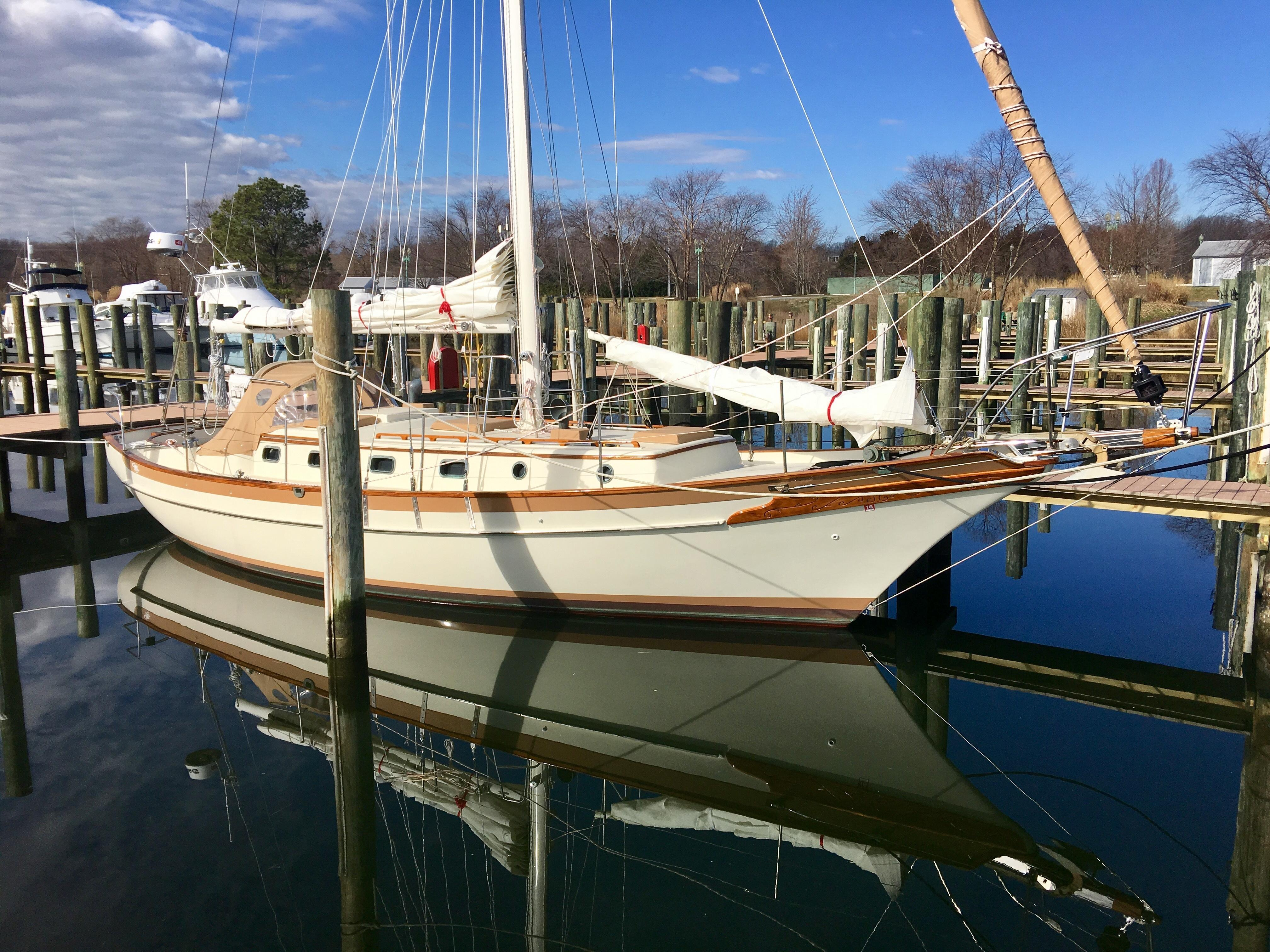 1980 Cabo Rico 38 Sail New And Used Boats For Sale