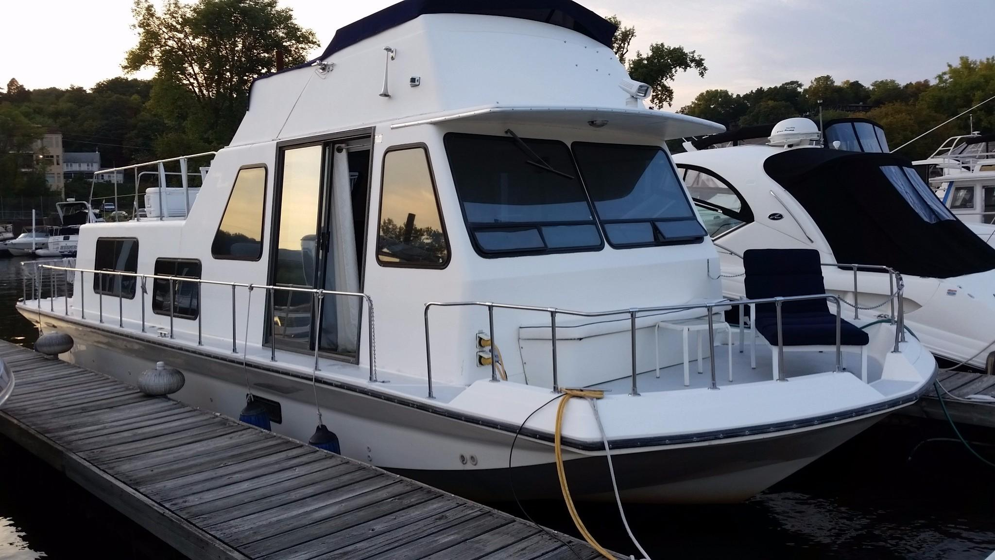 1993 Holiday Mansion Houseboat Power Boat For Sale Www