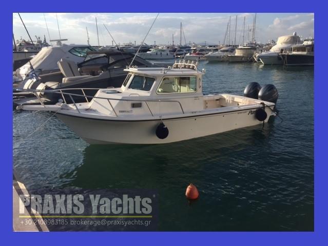 2005 Parker 2520 Deep Vee Sport Cabin Power Boat For Sale