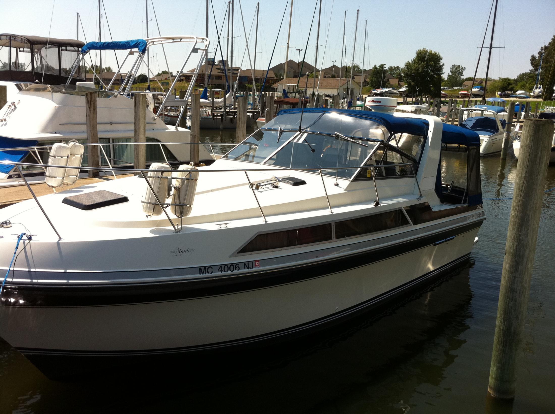 1988 Carver 32 Montego Power Boat For Sale Www