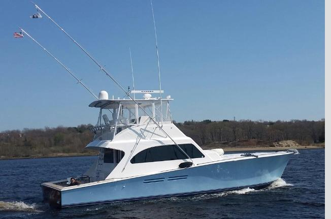 2000 Post Marine 50 Convertible Power Boat For Sale Www