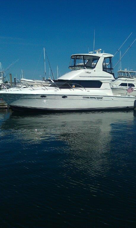 2001 Silverton 42 Convertible Power Boat For Sale Www