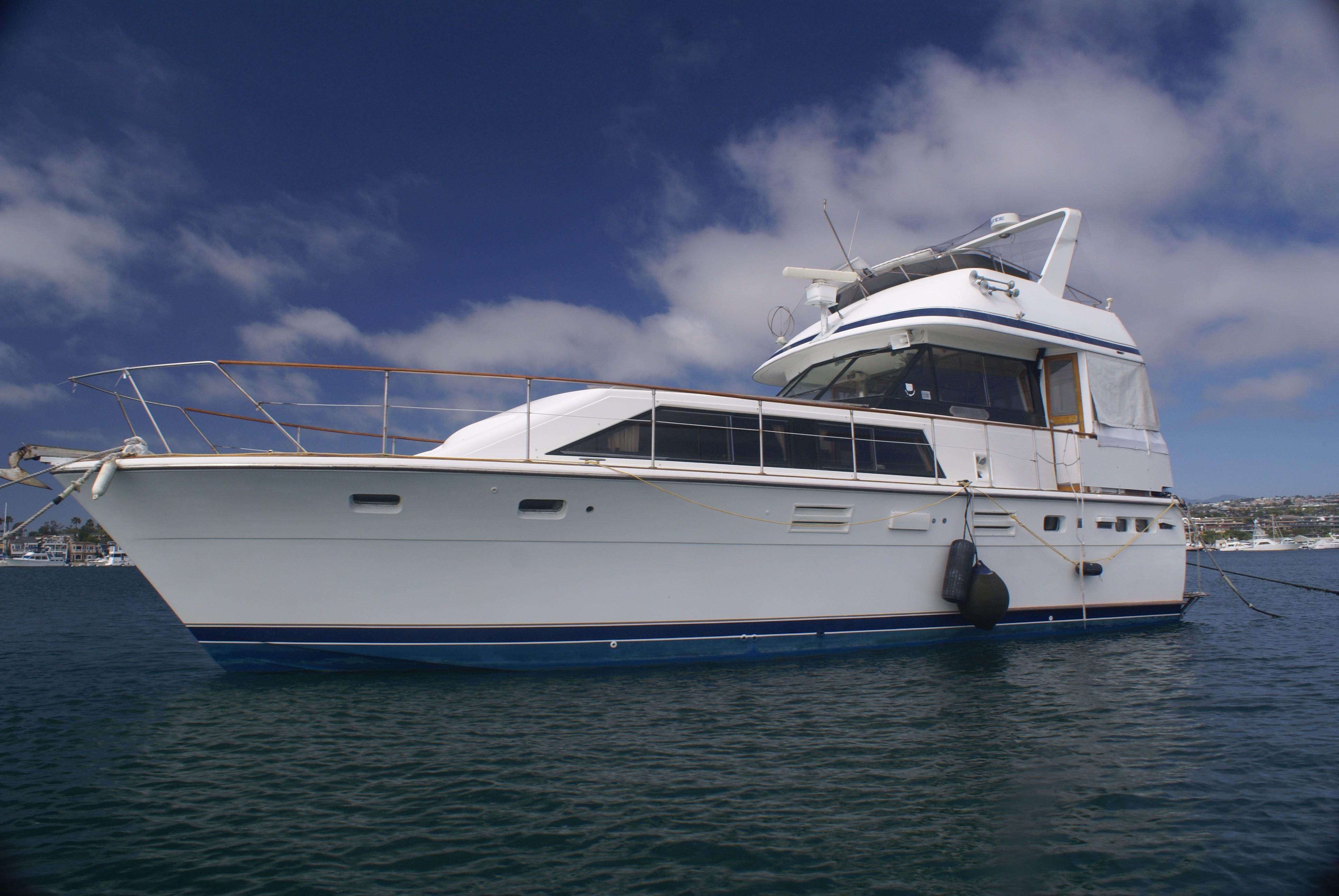 1978 Trojan 44 Motor Yacht Power Boat For Sale Www