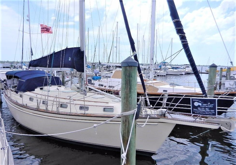 1988 Island Packet 38 Sail New And Used Boats For Sale