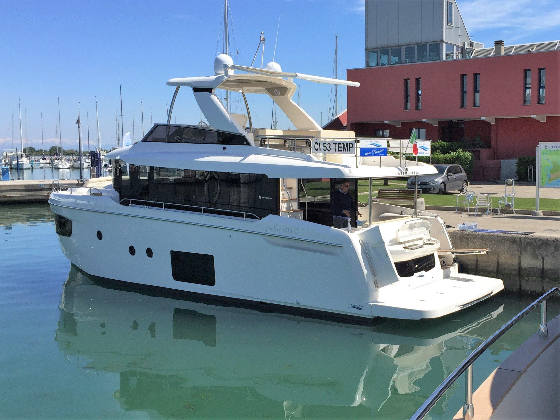 2018 Absolute 52 Navetta Power New And Used Boats For Sale