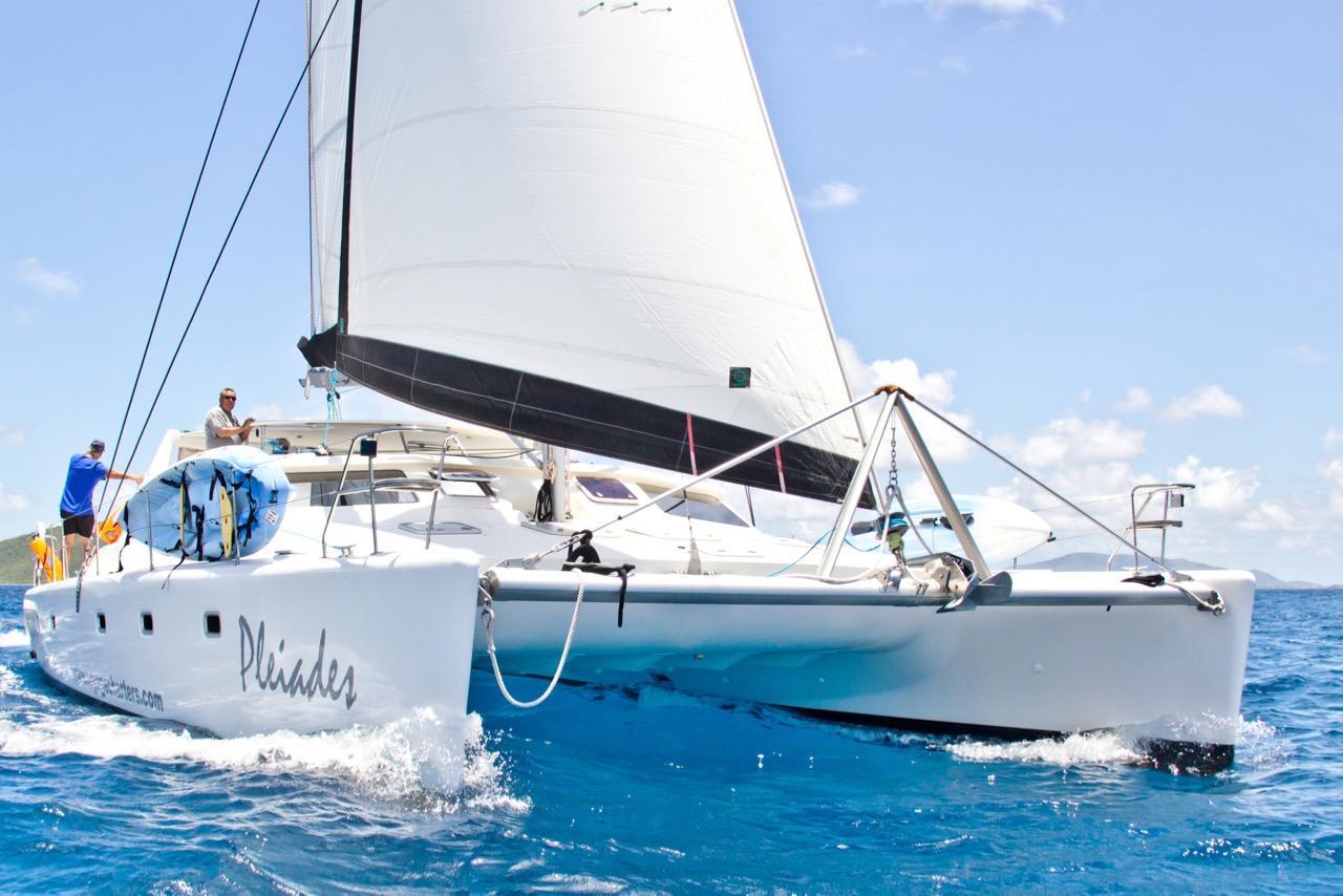 2006 Voyage Yachts 500 Catamaran Sail Boat For Sale Www