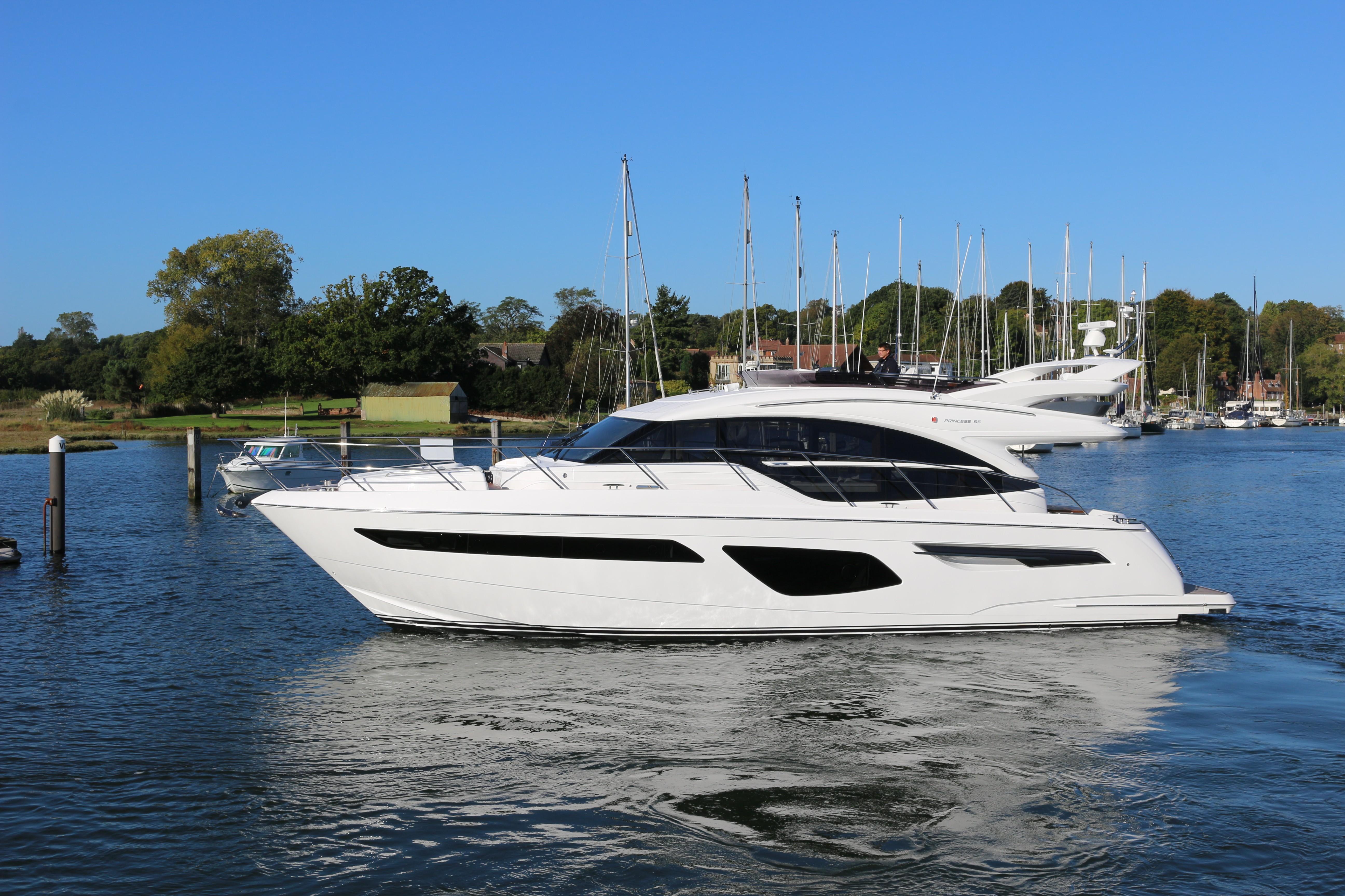 2017 Princess 55 Power Boat For Sale Wwwyachtworldcom