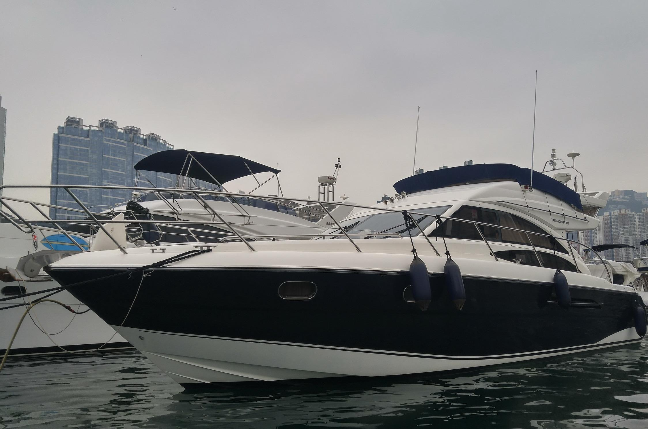 2005 Princess 42 Flybridge Power Boat For Sale Www