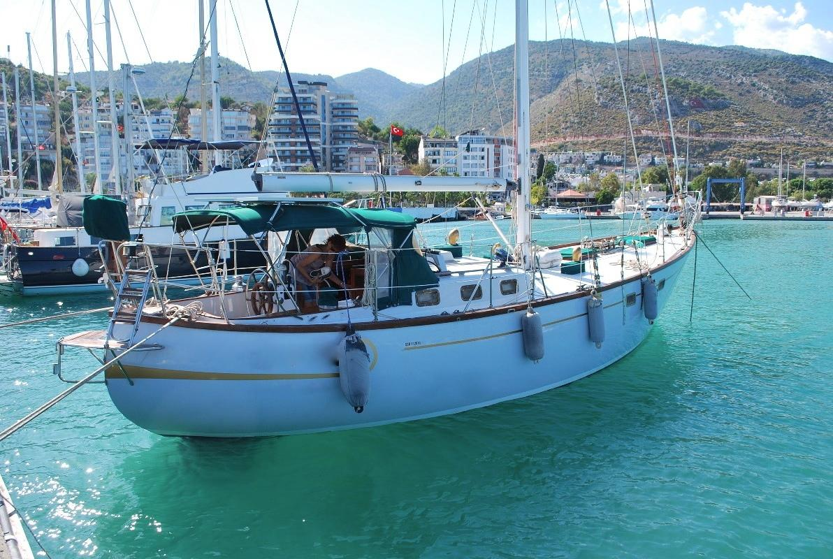 1980 Polaris 43 Robert Perry Sail Boat For Sale Wwwyachtworldcom