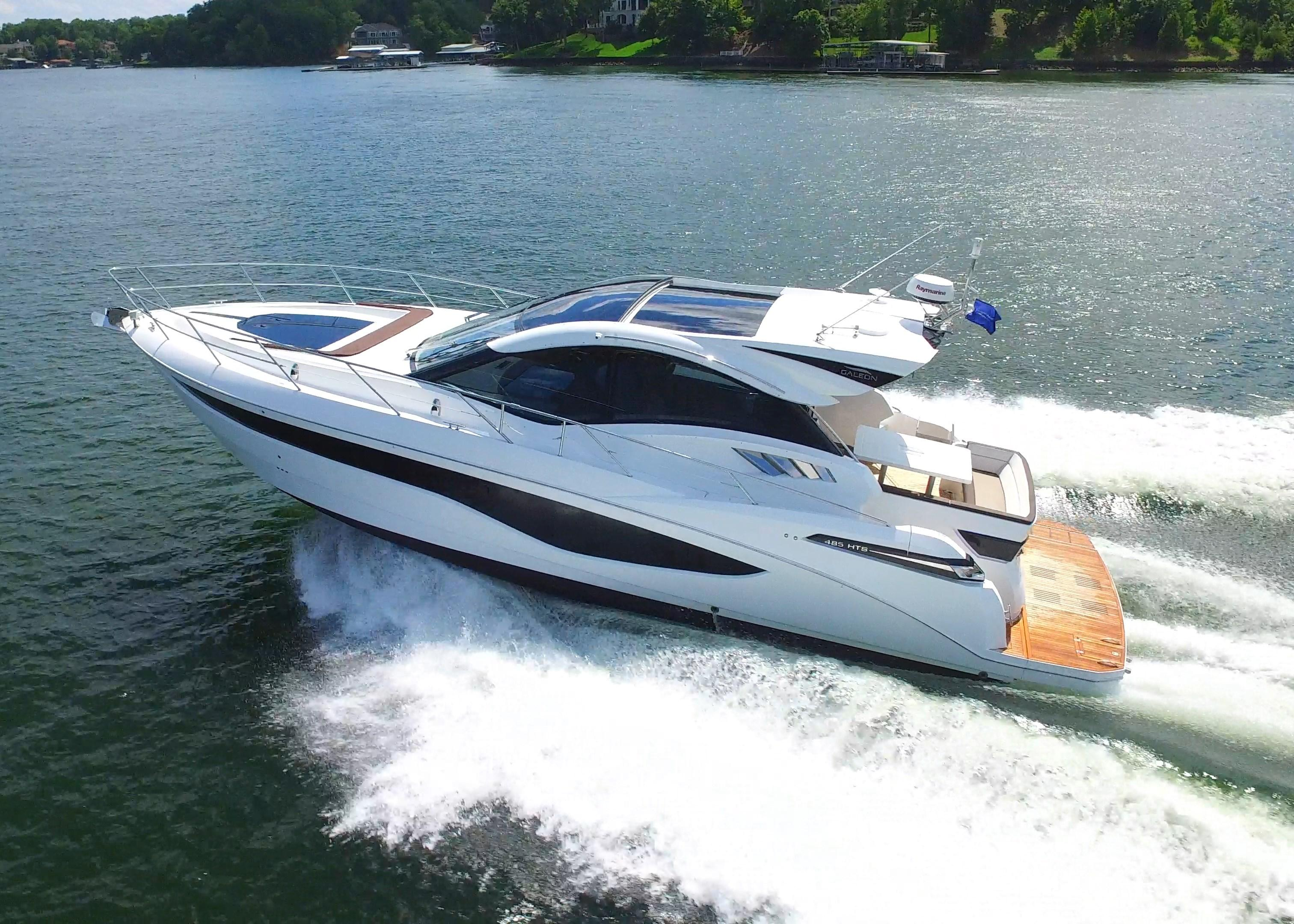2018 Galeon 485 HTS Power Boat For Sale Wwwyachtworldcom