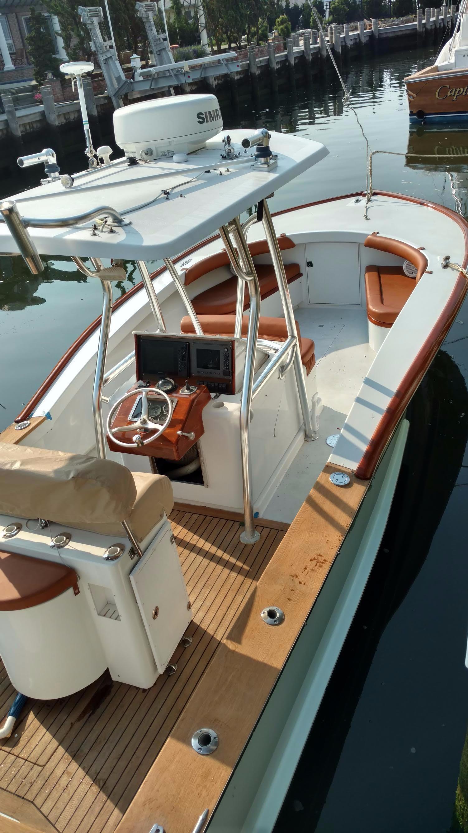 1998 Jarrett Bay Center Console Custom Power Boat For Sale