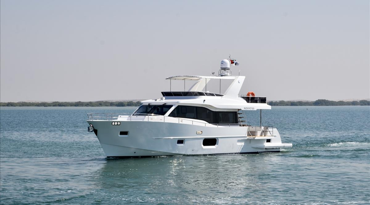 2017 Nomad 55 Power Boat For Sale Wwwyachtworldcom