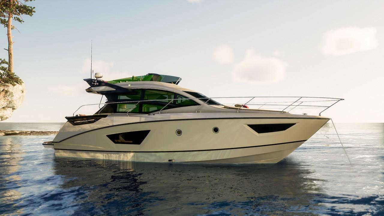 2018 Beneteau Gran Turismo GT 50 Sportfly Power Boat For