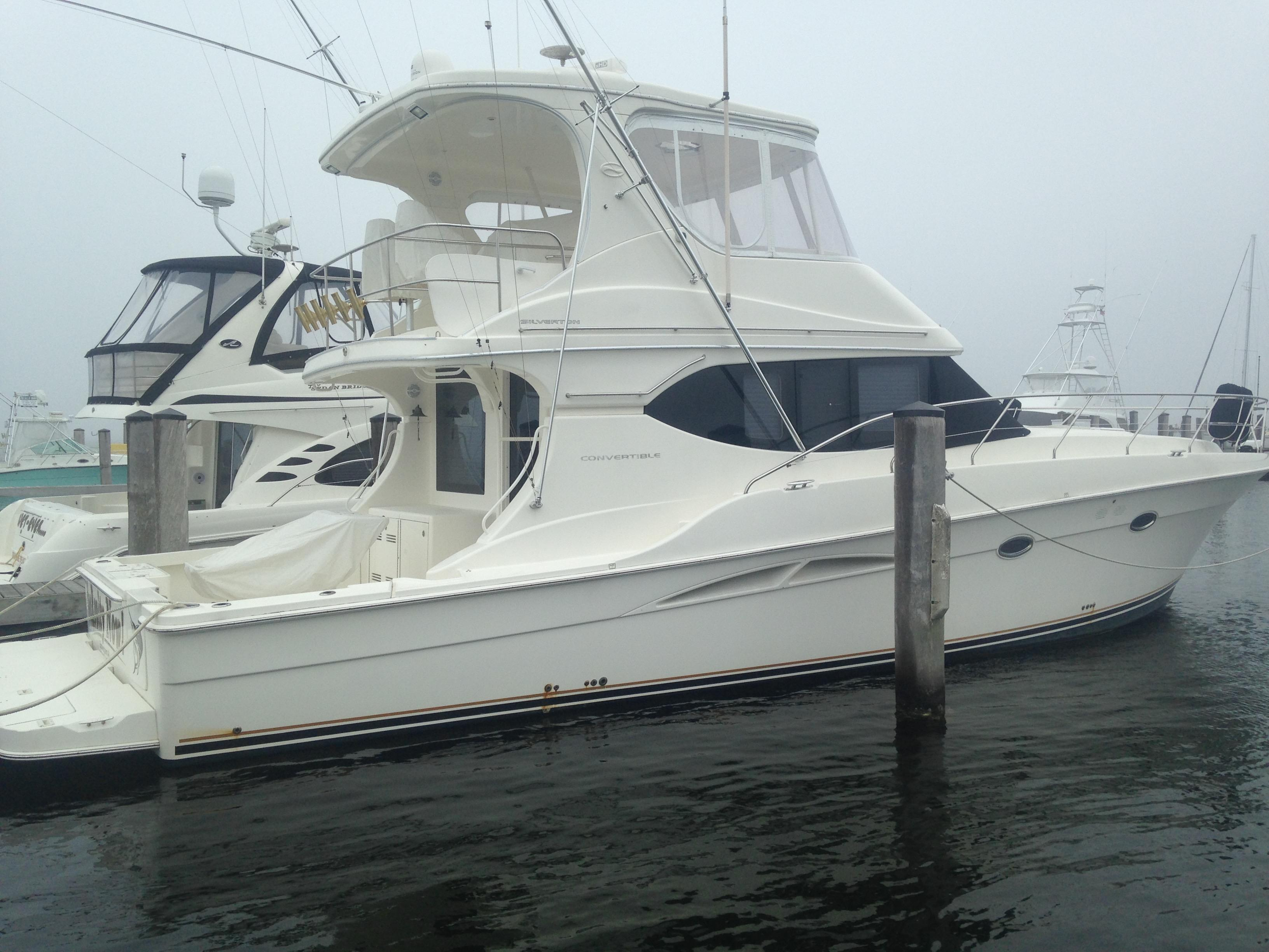 2005 Silverton 48 Convertible Power Boat For Sale Www