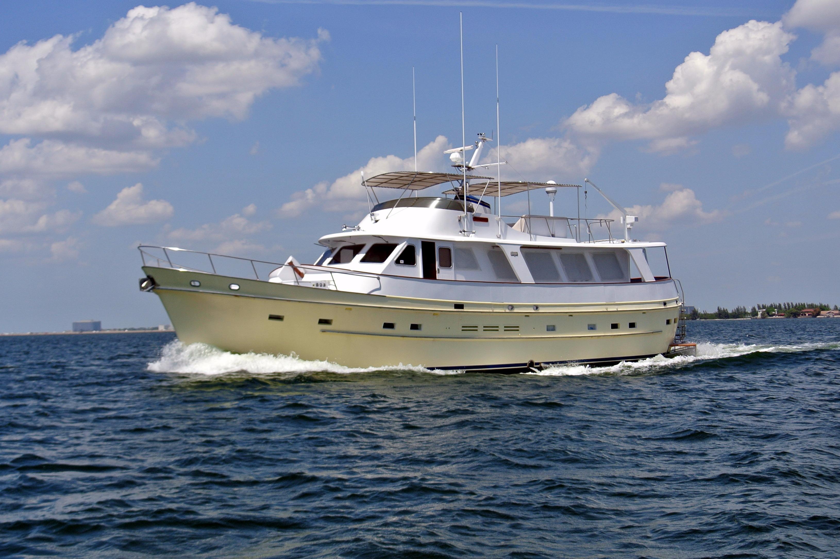 1986 Cheoy Lee 66 Long Range Cruiser Power Boat For Sale