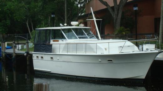 Hatteras 43 Double Cabin Boats For Sale YachtWorld