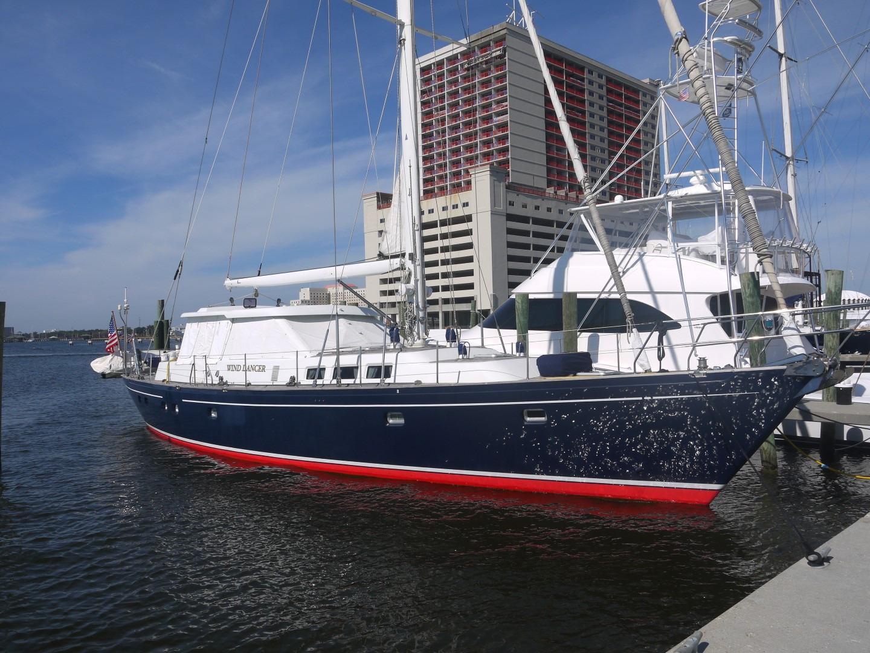 1996 Schiomachen Sailing Cutter Motorsailer Sail New And