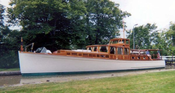 1929 Consolidated Commuter Power Boat For Sale Www