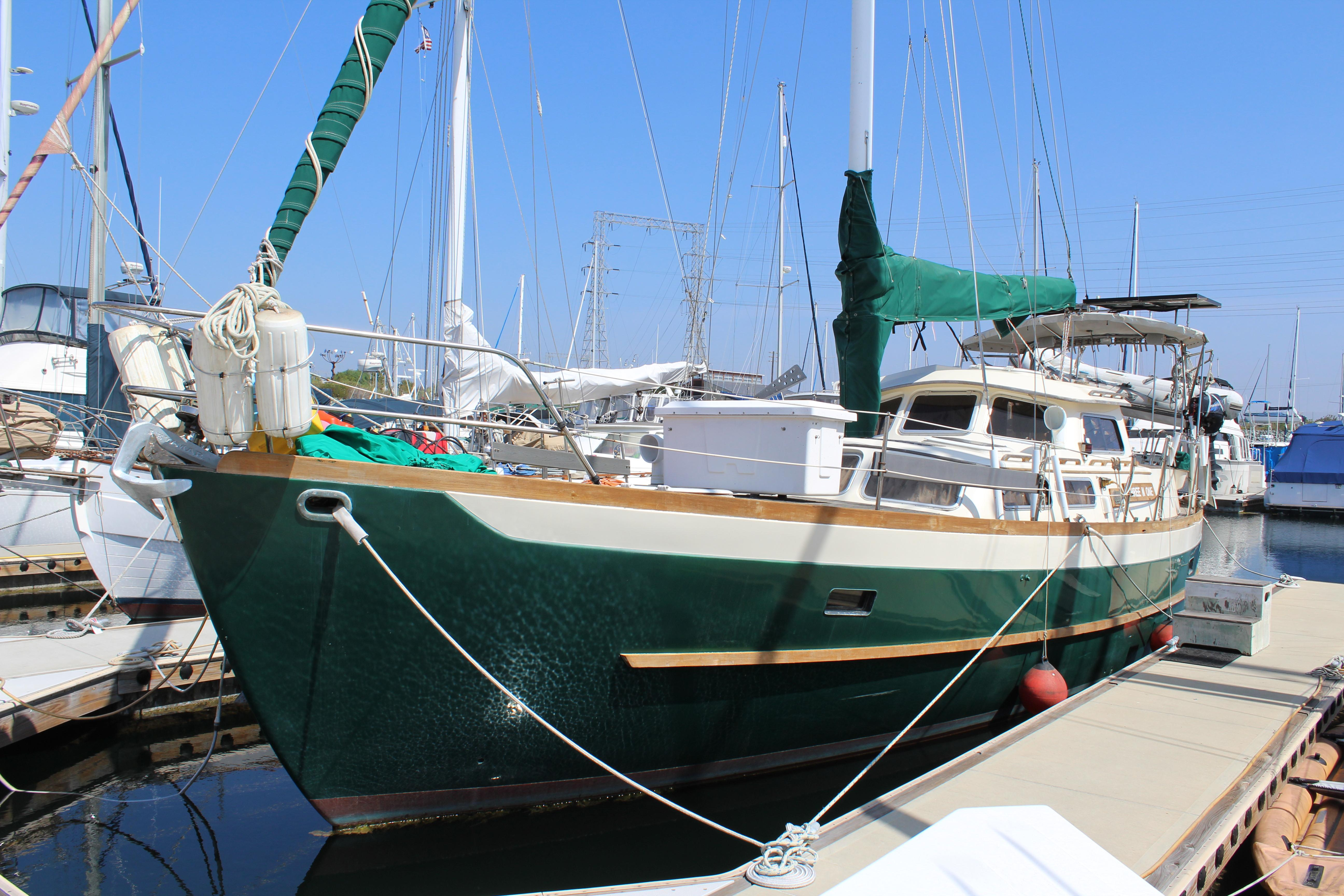 1984 Cheoy Lee 43 Sail New And Used Boats For Sale