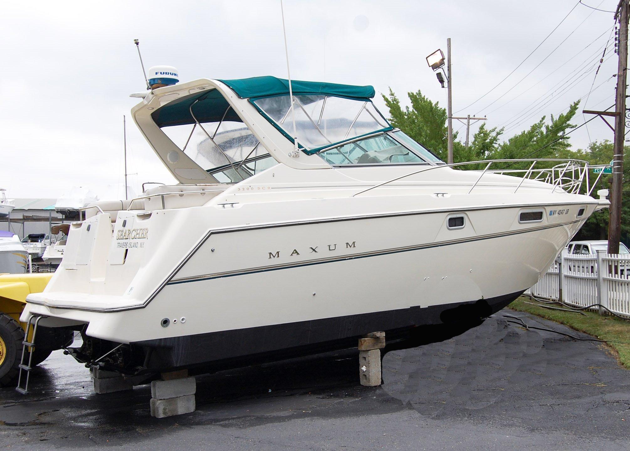 1996 Maxum 3200 SCR Motore Barca In Vendita Www