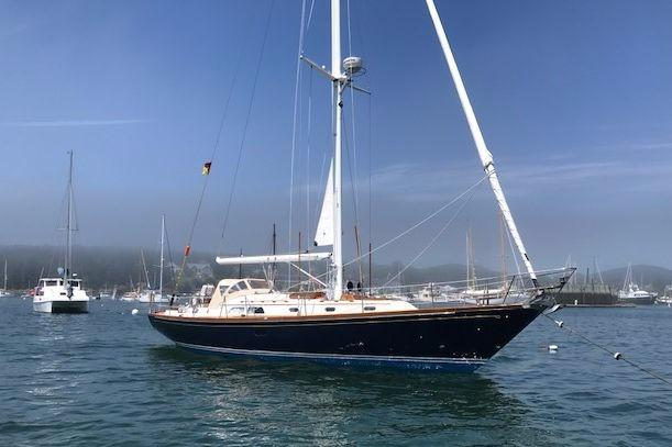 1995 Hinckley Souwester 42 MK II Sloop Sail Boat For Sale