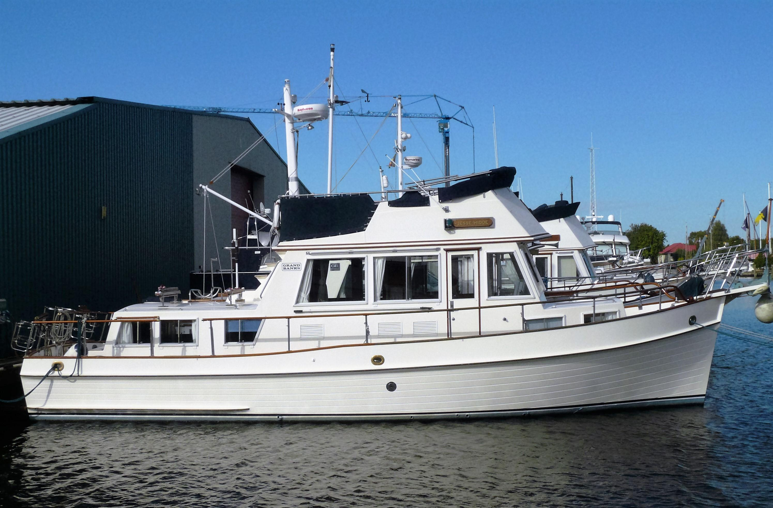1991 Grand Banks 36 Classic Power New And Used Boats For Sale