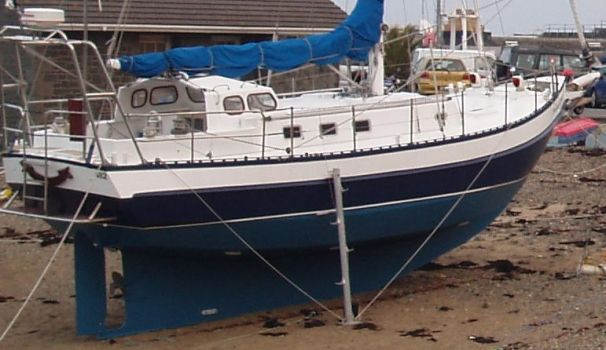 1990 Bruce Roberts Spray 38 Sail Boat For Sale Www