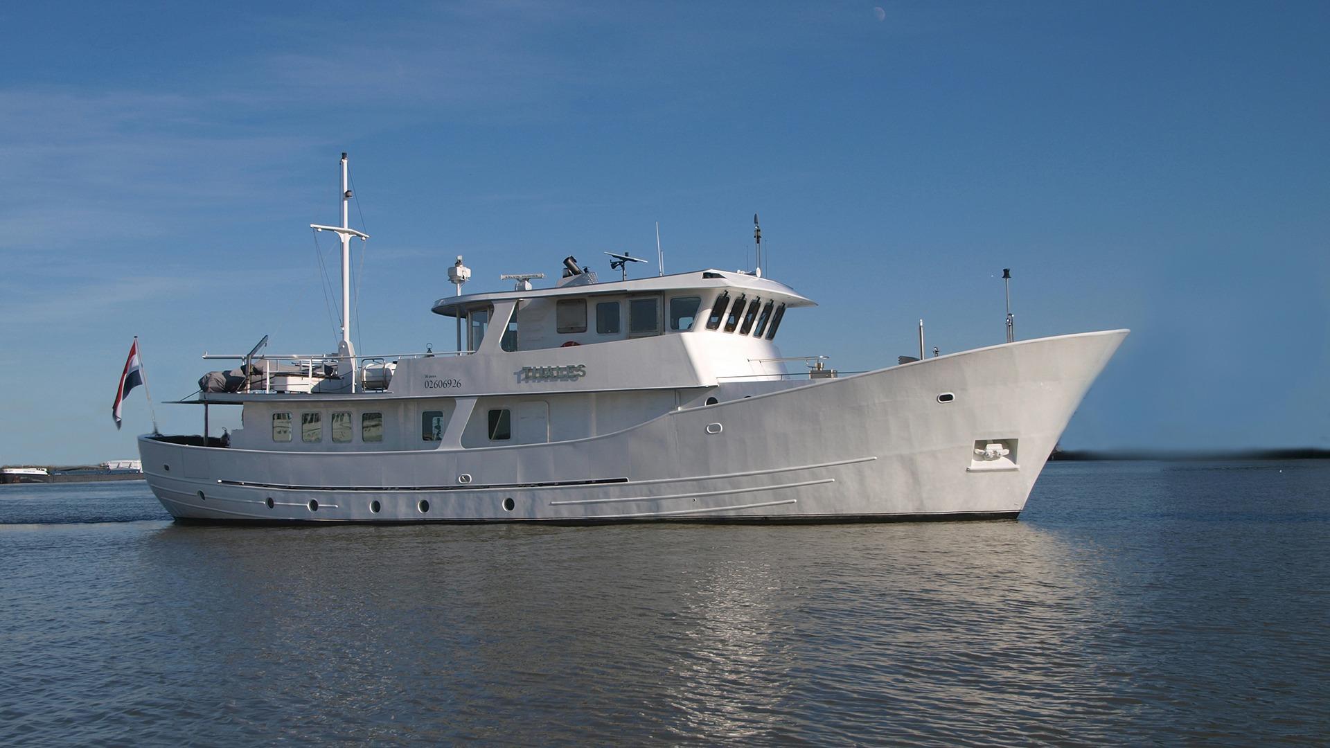 2003 Metz Roode Trawler Charter Power Boat For Sale Www