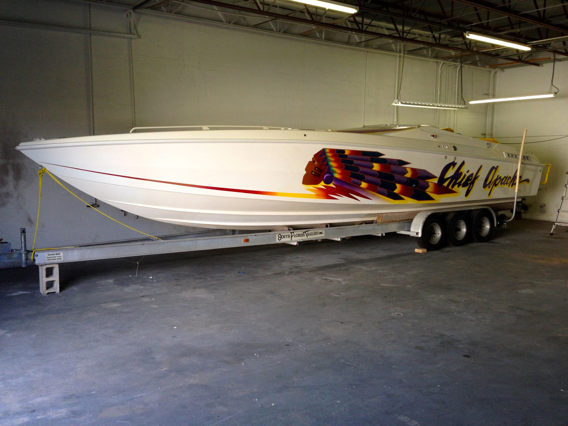 1996 Apache Warpath Power Boat For Sale Wwwyachtworldcom