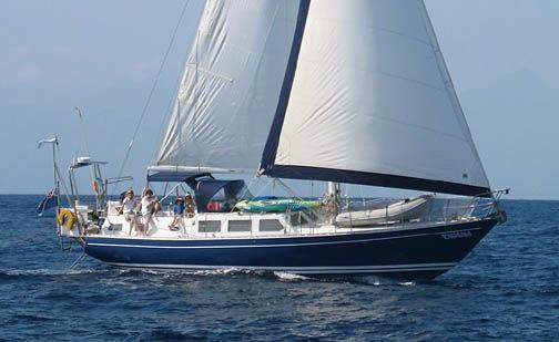 1992 Bruce Roberts 45 Cutter Sail Boat For Sale Www