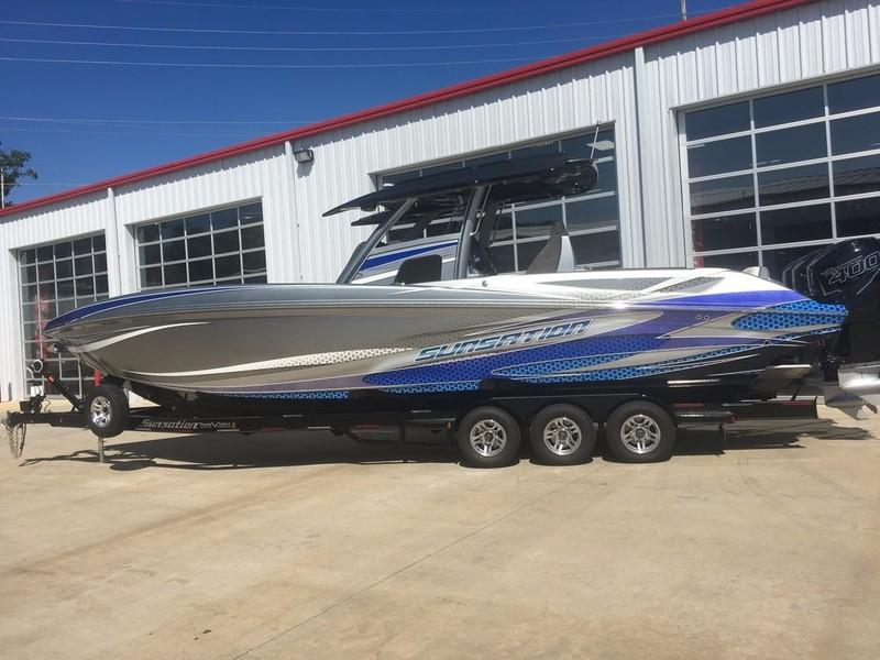 2018 Sunsation Powerboats 34 CCX Diamond Edition Power