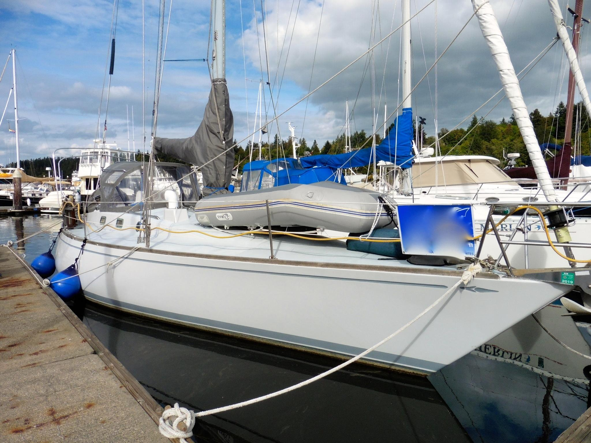1972 Yankee 38 Sail Boat For Sale Wwwyachtworldcom